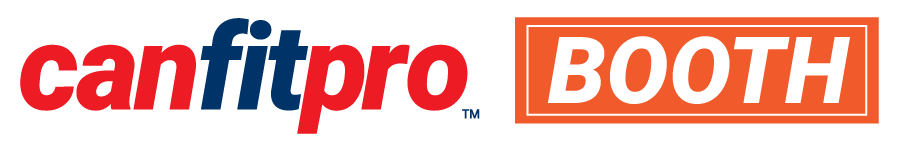 canfitpro booth logo