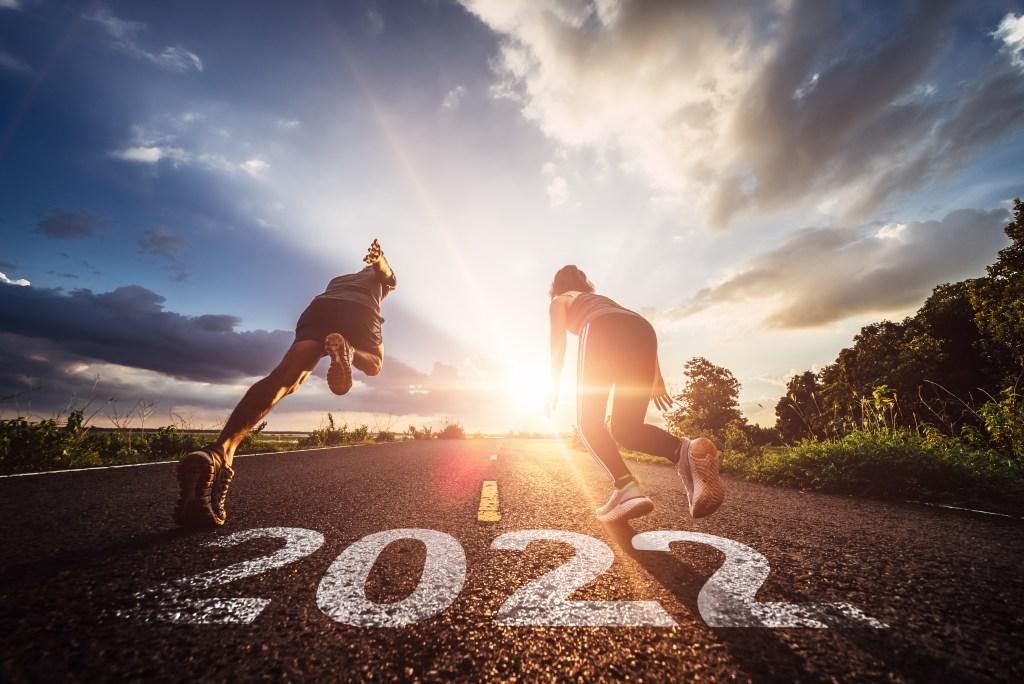 running towards 2022