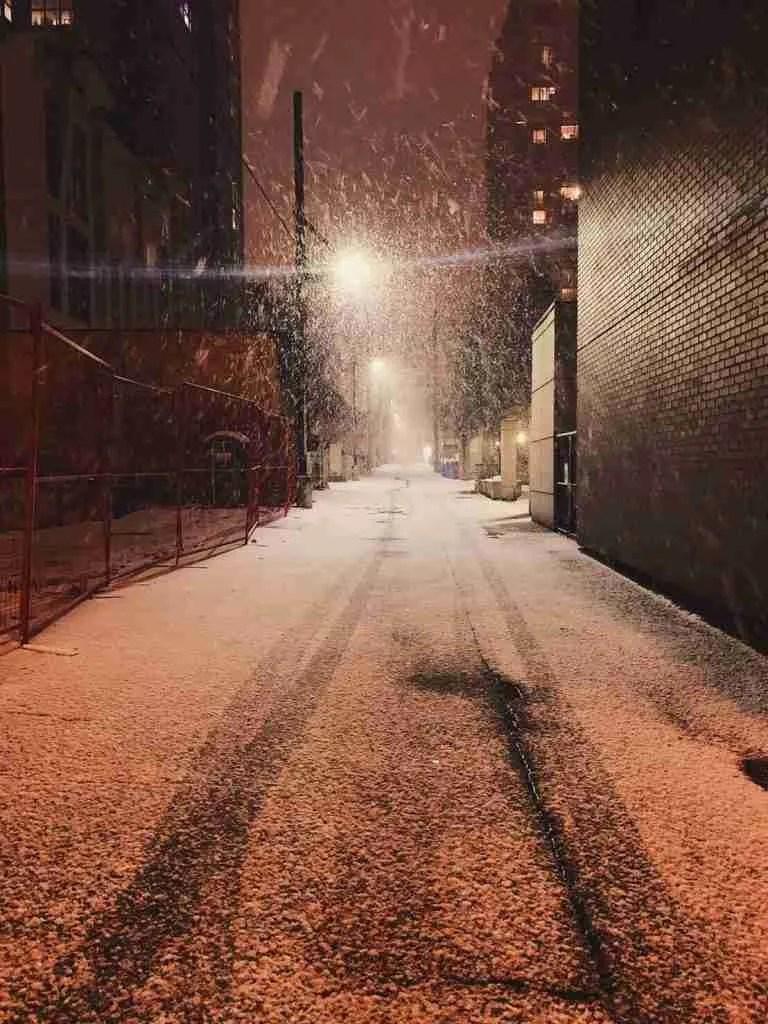加拿大遊學特派員-下雪2