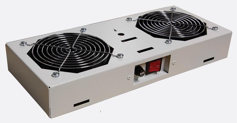 lande fan module 2 fan for proline wall cabinets switched grey