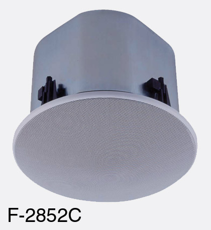 toa ceiling speakers wide dispersion