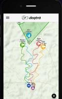 Dogtra Pathfinder, mapová obrazovka