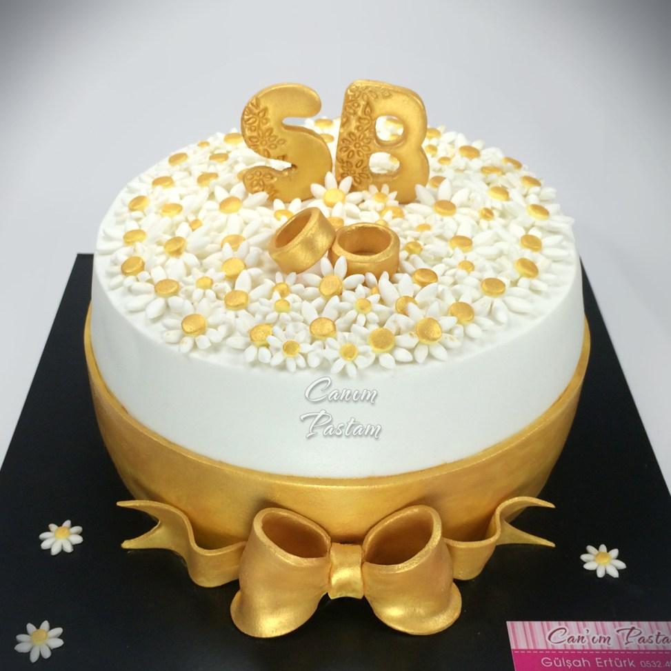 Daisy Cake Daisy Gold Cake