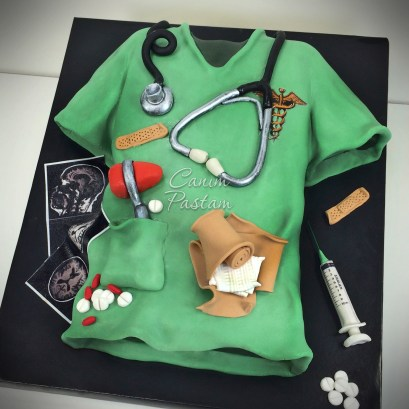 Surgeon Cake Doctor Cake Doktor Pastası