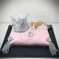 Crown Cake Cat Cake