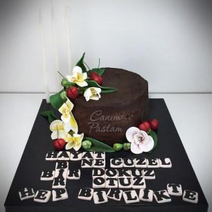 Fressia Naked Cake