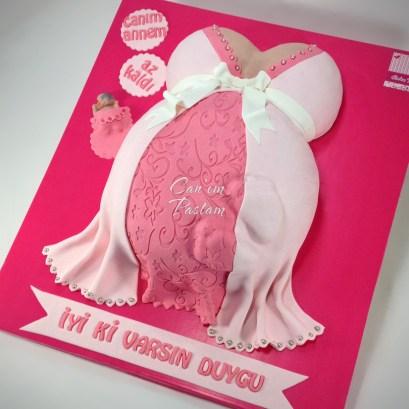 Baby Shower Cake Büstiyer Pasta Victoria Cake