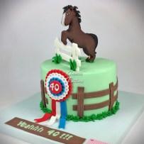 Horse Cake Winner Cake