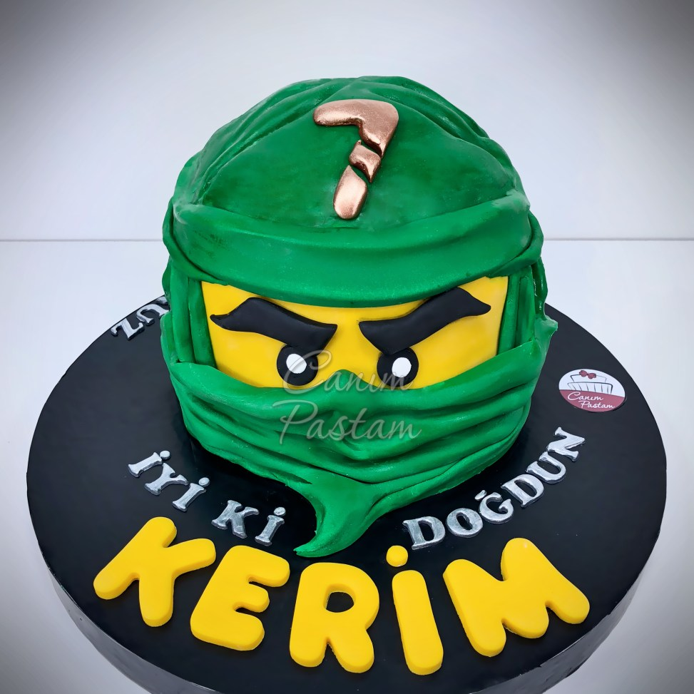 Lego Cake Ninjago Cake