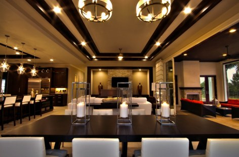 Palazzo Lago Custom Home - Dining