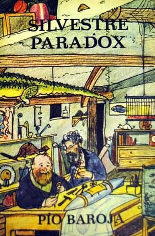 Portada de la edición de Caro Reggio de Silvestre Paradox – Julio Caro Baroja