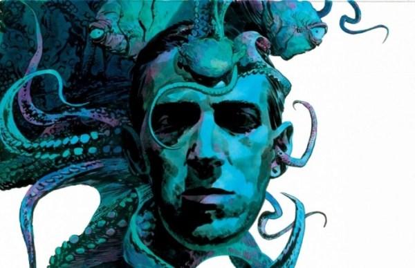 Ilustración de H.P. Lovecraft