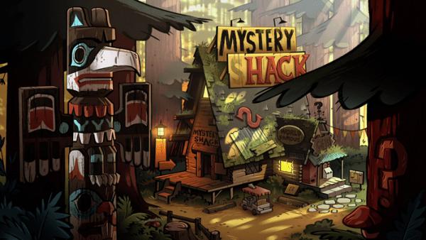 Gravity Falls La Cabaña del misterio