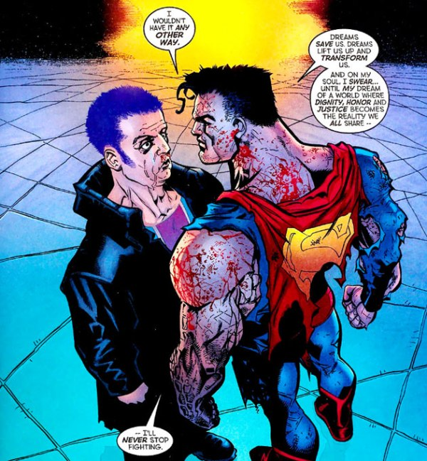 Superman contra la Élite - Canino