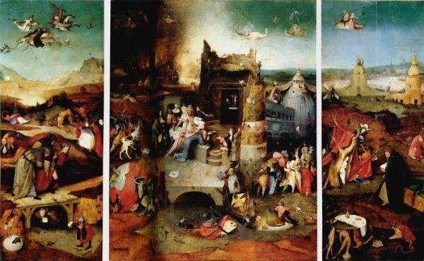 'Las tentaciones de San Antonio', Museo de Arte Antiguo, Lisboa