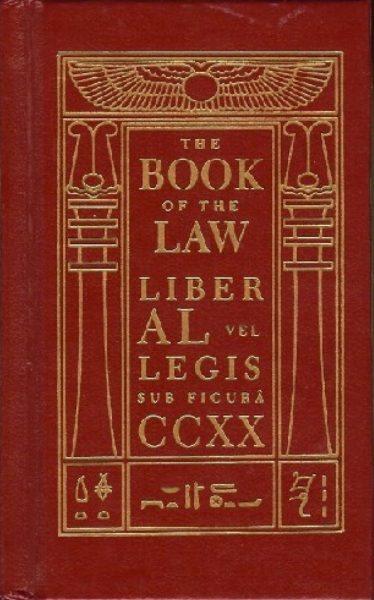 Portada original de El libro de la ley