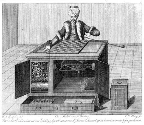 1. La primera máquina de ajedrez. El Turco