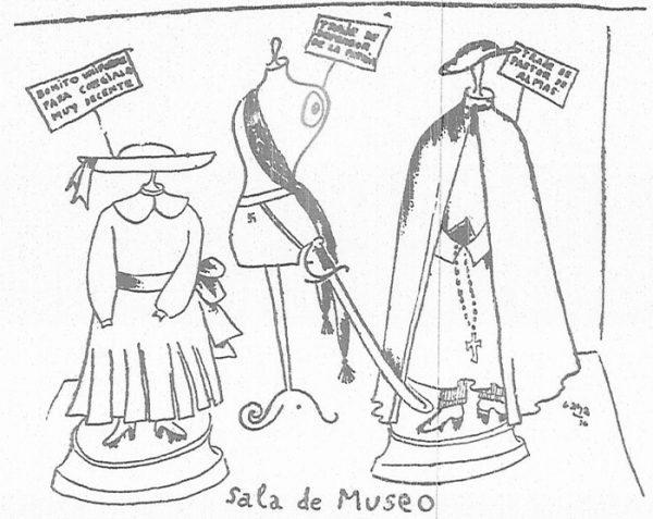 """Esta """"hoja semanal"""", un volante insertado en el periódico La Voz, duró hasta el año 1939."""