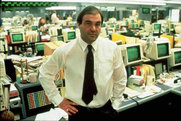 Oliver Stone en Wall Street