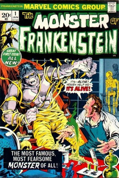 monster of frankenstein num 1
