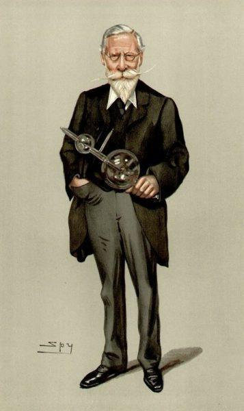 Caricatura realizada por Leslie Ward, publicada en Vanity Fair