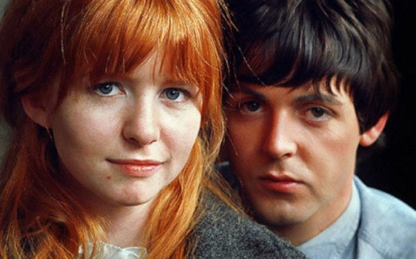 """Lágrimas para nadie"": Paul McCartney y Jane Asher."