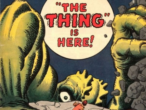 the thing is here banner