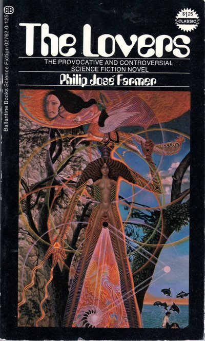 Portada de 'Los amantes', de Philip José Farmer