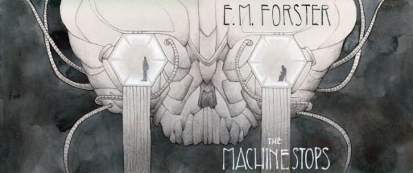 Ilustración de Kelly Airo basada en el relato de EM Forster La máquina se para