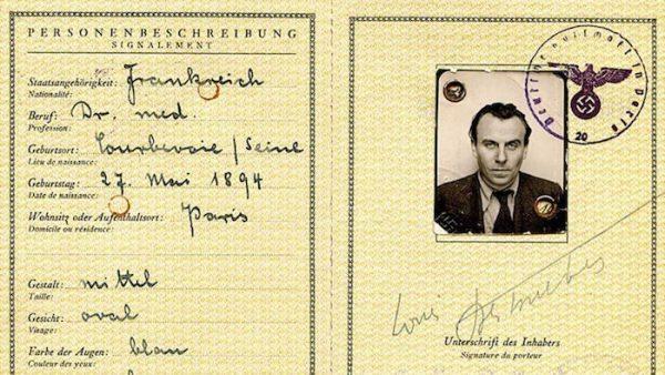 Imagen del pasaporte de Céline