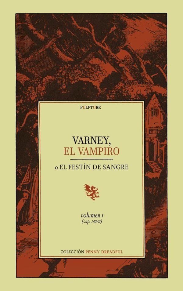 Portada de 'Varney, el vampiro'