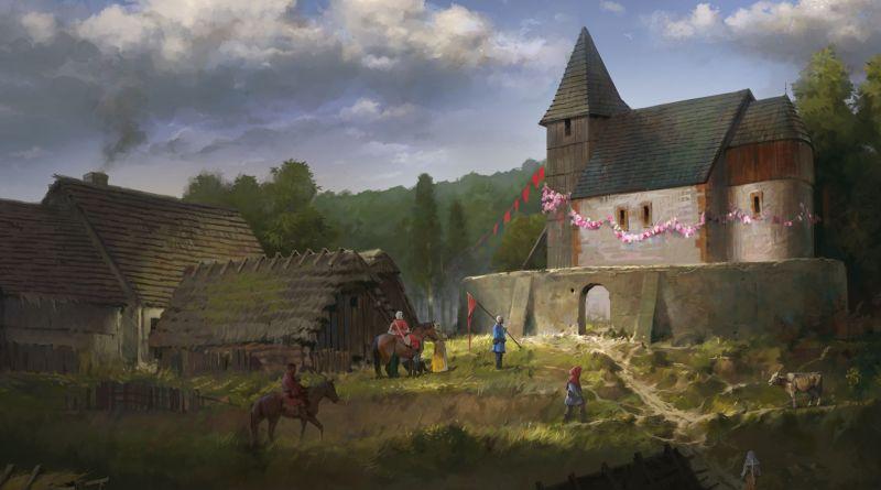Kingdom Come Deliverance title screen