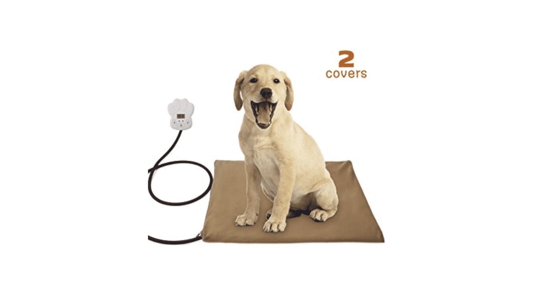 coussins et tapis chauffants pour chien