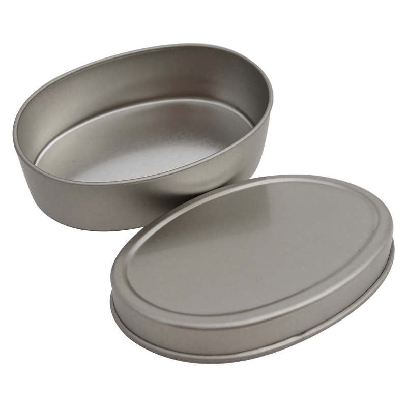 Co4 84x57x25mm-Custom Mini Oval Canister