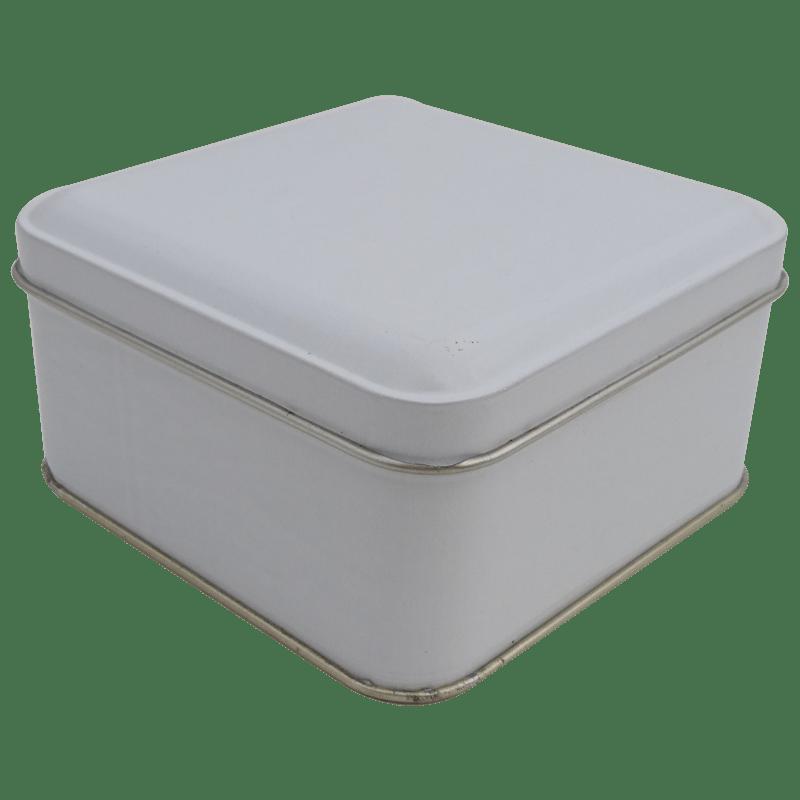 Cr18-W 99x99x50-Custom Square Tin Box