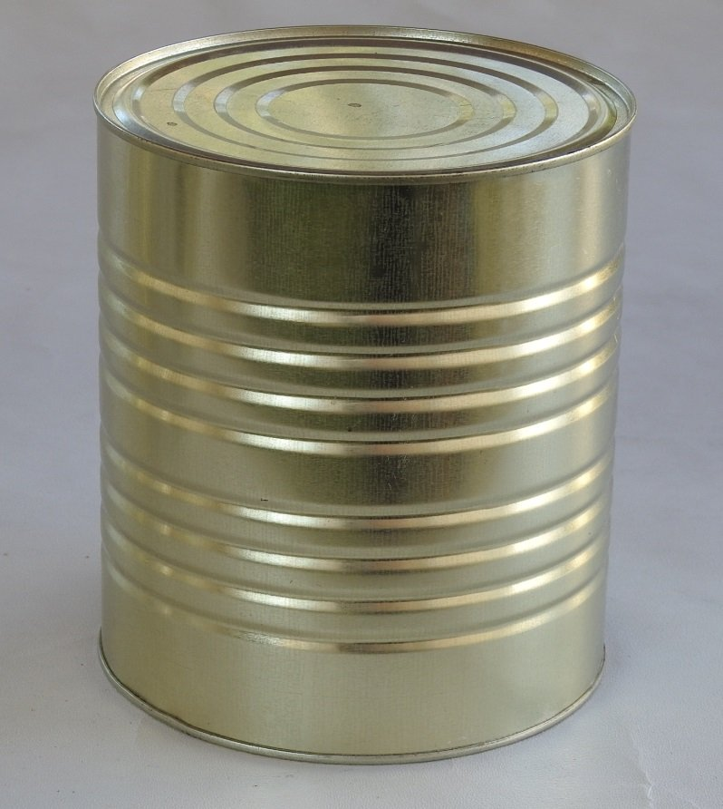 A10 Sealed Food Tin Can 153x178mm