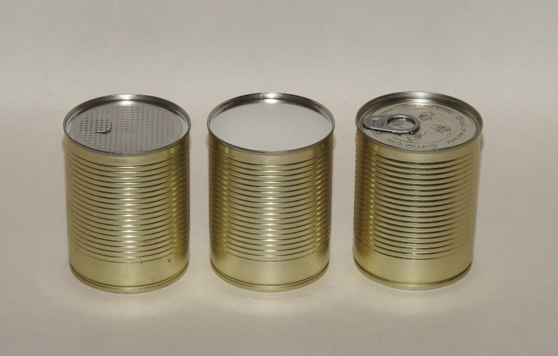 custom sealed tin cans