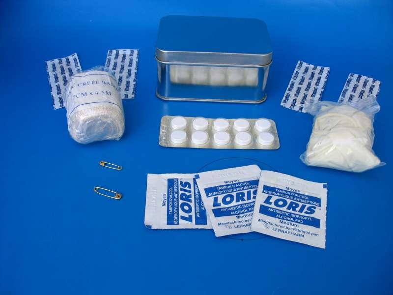 Custom First Aid Tin Box