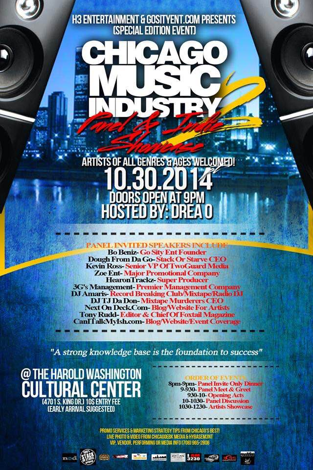 Chicago Music Industry 2: Panel & Indie Showcase | Can I