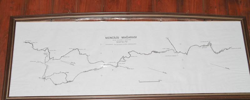 Bulak Mencilis Mağarası Haritası