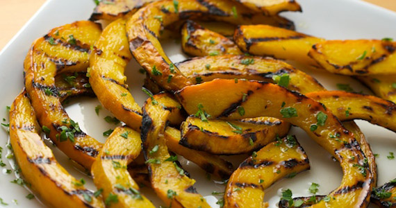 Recipe: Sweet and Sour Grilled Pumpkin