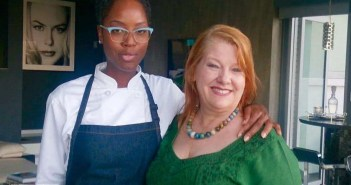 Chef Andrea Drummer of Elevation VIP and Cheri