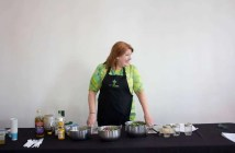 Cheri Sicard cannabis cooking demo at the Infused Expo