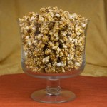 marijuana snack recipes - salted caramel popcorn