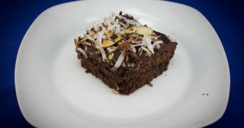Almond and Coconut Marijuana Brownies