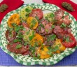 Marijuana Recipes - Hempy Heirloom Tomato Salad