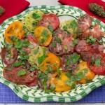 Marijuana Recipes - Hempy Heirloom Tomato Salad