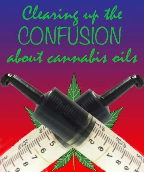 Cannabis Oil - types of