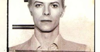 celebrity marijuana arrests - David Bowie mugshot