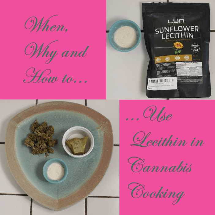 Lecithin in Cannabis Cooking